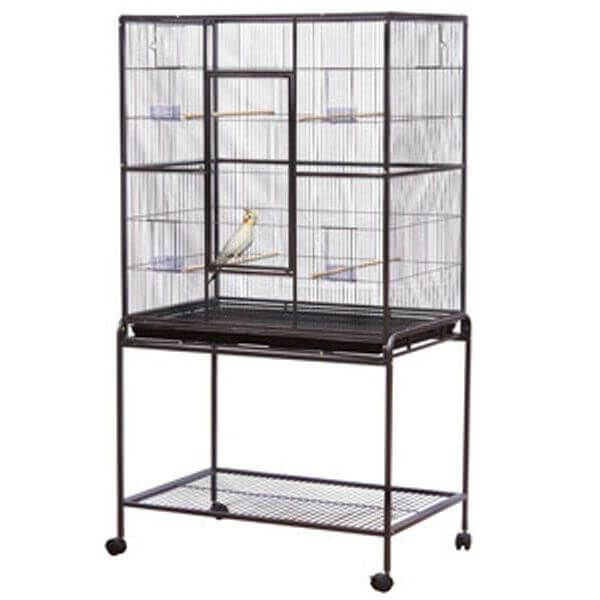 Deluxe Flight Cage with Stand 36 inch